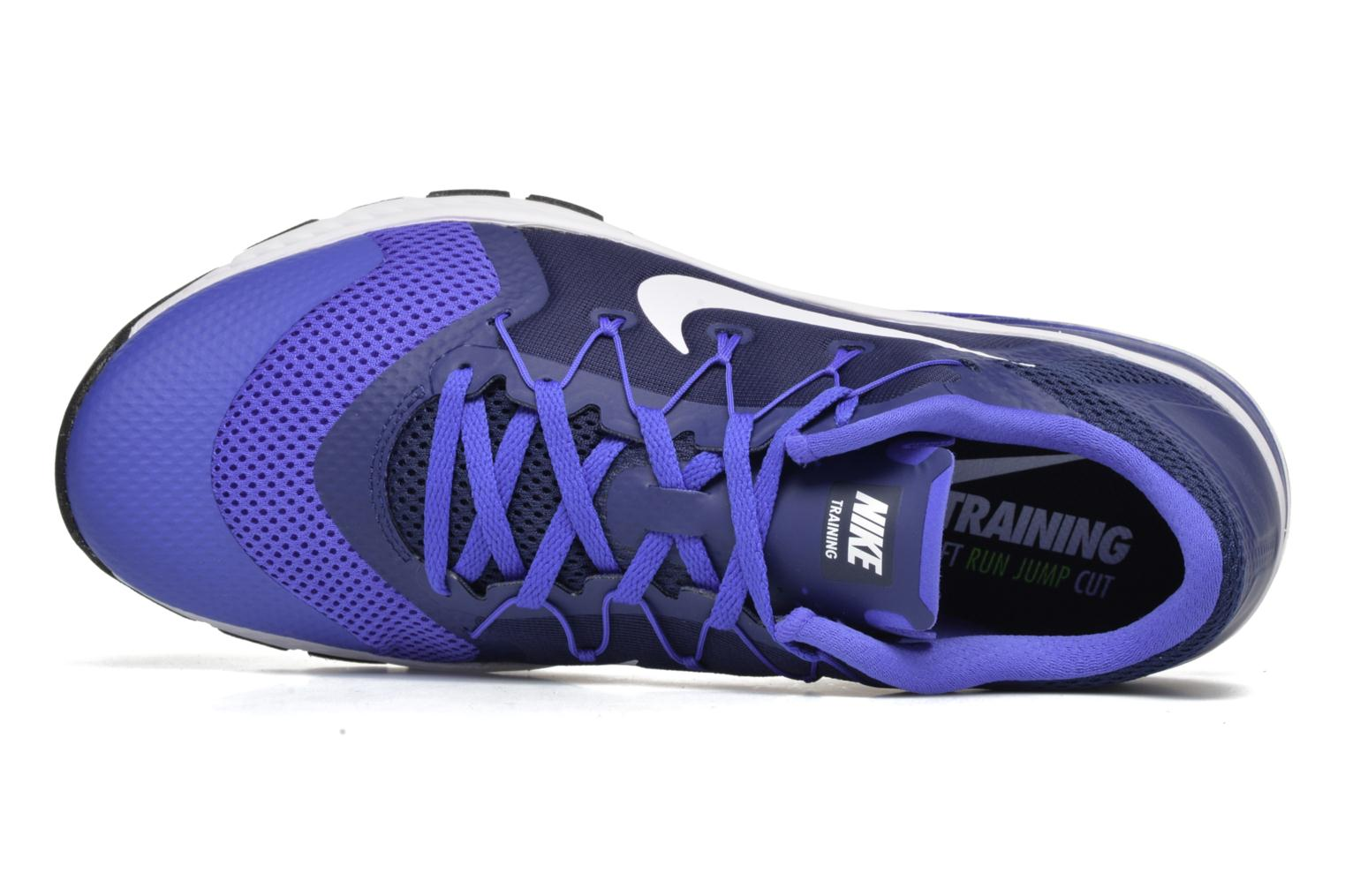 Sport shoes Nike Nike Zoom Train Complete Blue view from the left