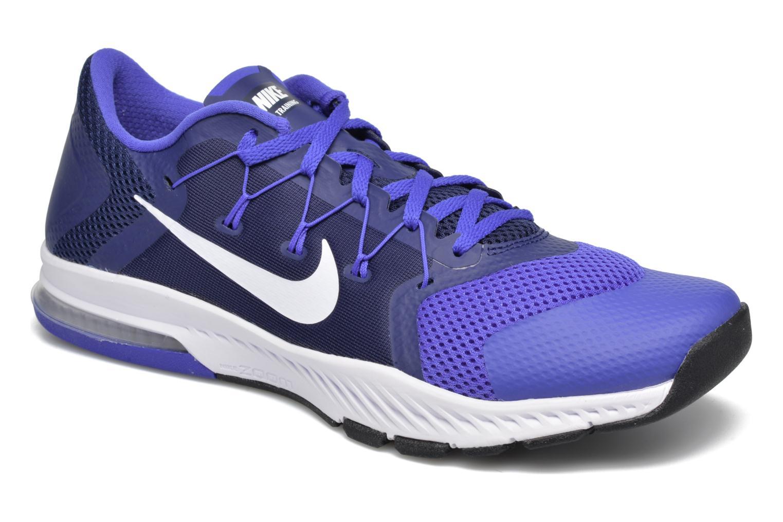 Chaussures de sport Nike Nike Zoom Train Complete Bleu vue détail/paire
