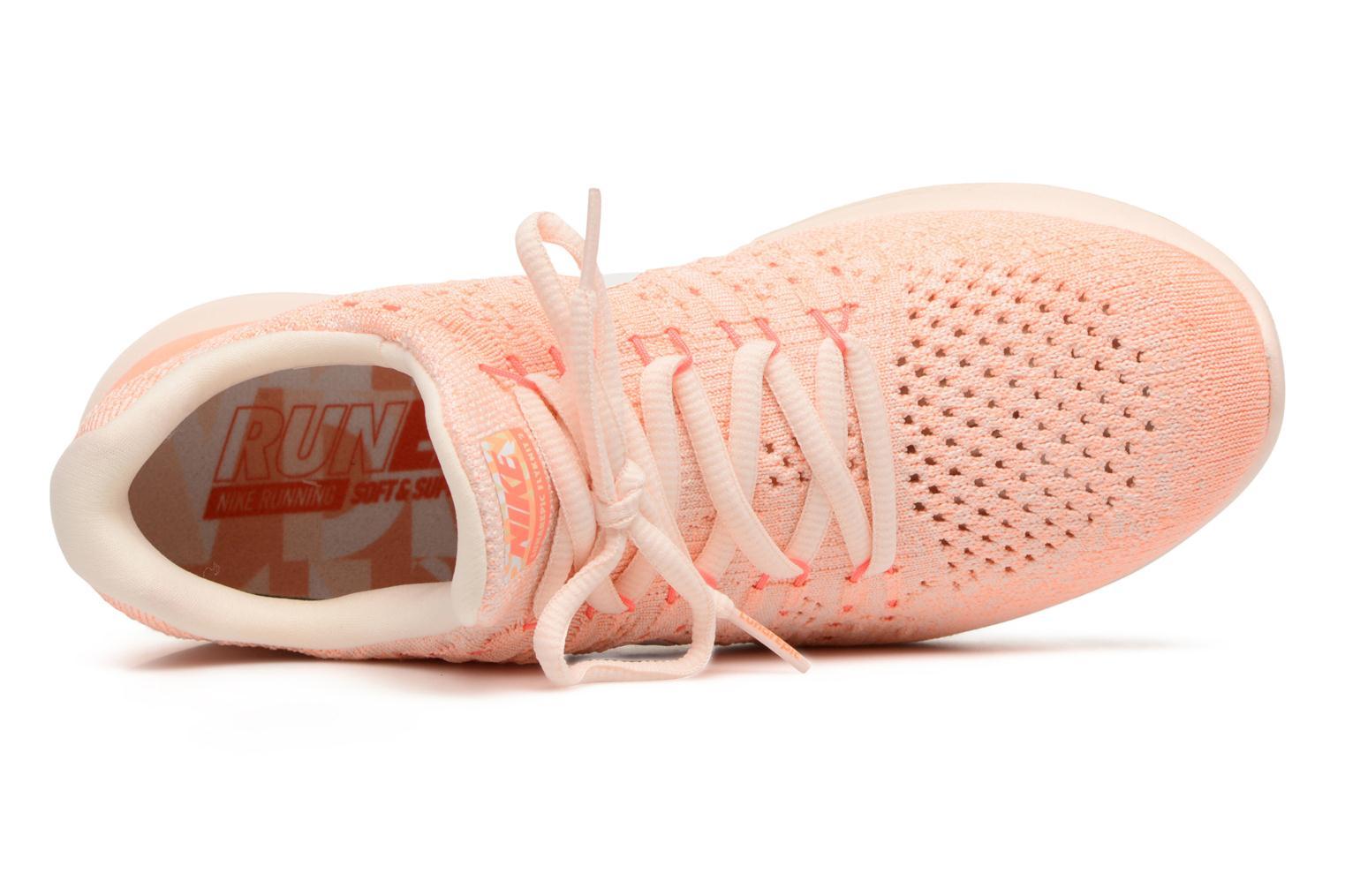 Sportskor Nike W Lunarepic Low Flyknit 2 Iwd Orange bild från vänster sidan