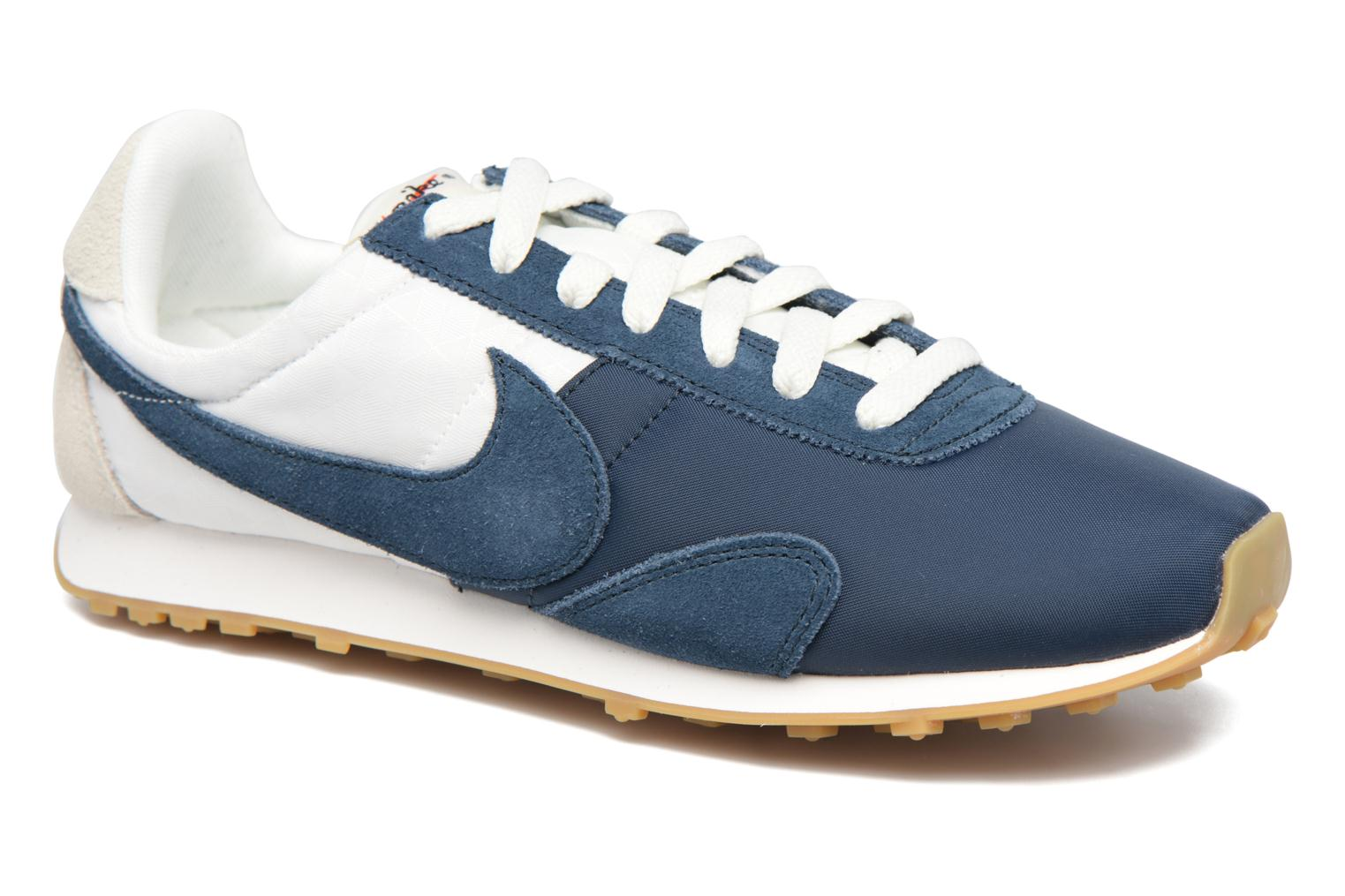 W Pre Montreal Racer Vntg Sail/Armory Navy-Gum Light Brown