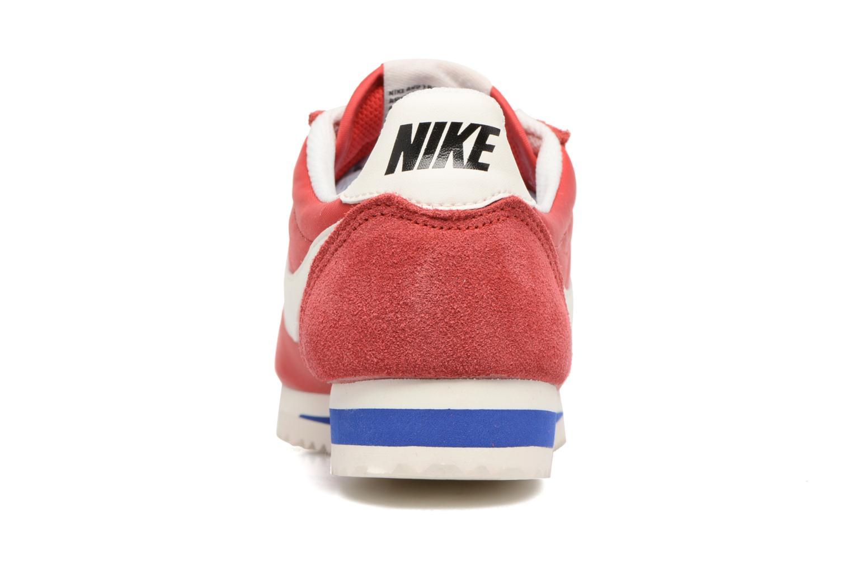 Baskets Nike Wmns Classic Cortez Nylon Prem Rouge vue droite
