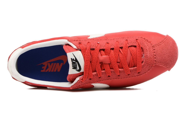 Baskets Nike Wmns Classic Cortez Nylon Prem Rouge vue gauche