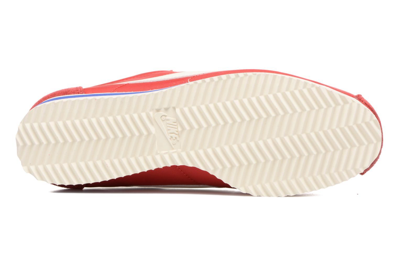 Baskets Nike Wmns Classic Cortez Nylon Prem Rouge vue haut