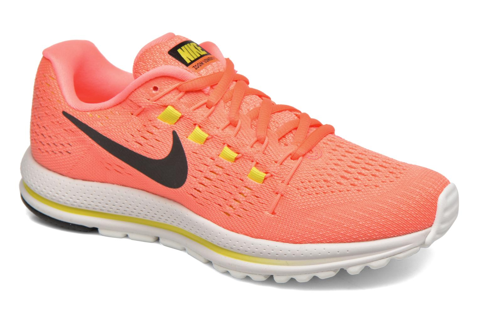 Marques Chaussure femme Nike femme Wmns Nike Air Zoom Vomero 12 Hot Punch/Black-Lava Glow-Electrolime