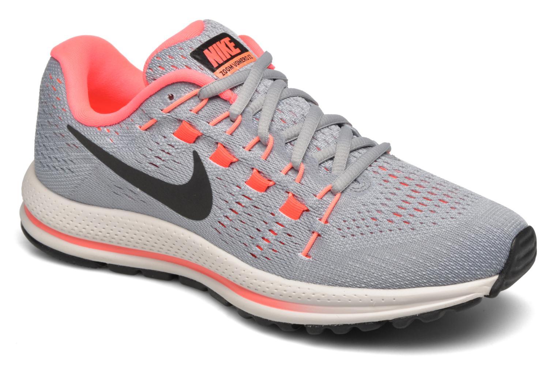 Sportssko Nike Wmns Nike Air Zoom Vomero 12 Grå detaljeret billede af skoene