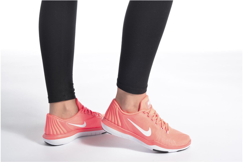 Scarpe sportive Nike Wmns Nike Flex Supreme Tr 5 Arancione immagine dal basso