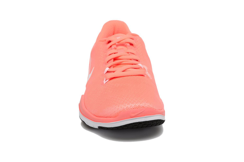 Scarpe sportive Nike Wmns Nike Flex Supreme Tr 5 Arancione modello indossato