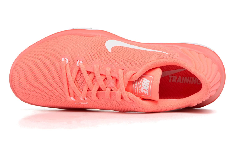 Scarpe sportive Nike Wmns Nike Flex Supreme Tr 5 Arancione immagine sinistra