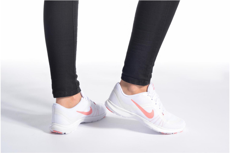 Zapatillas de deporte Nike Wmns Nike Flex Trainer 6 Prem Blanco vista de abajo