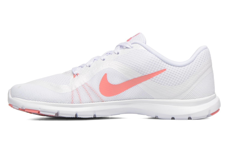 Chaussures de sport Nike Wmns Nike Flex Trainer 6 Prem Blanc vue face