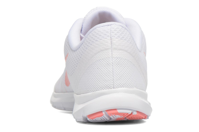 Wmns Nike Flex Trainer 6 Prem White/Bright Melon-Pure Platinum
