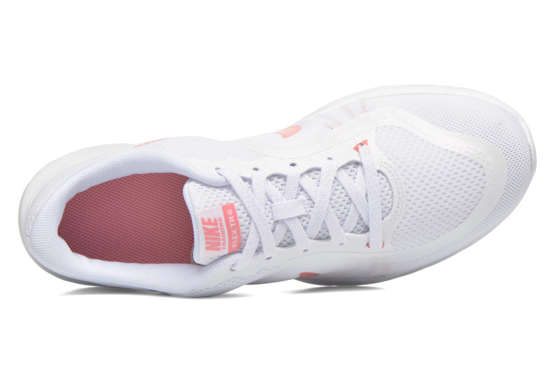 Zapatillas de deporte Nike Wmns Nike Flex Trainer 6 Prem Blanco vista lateral izquierda