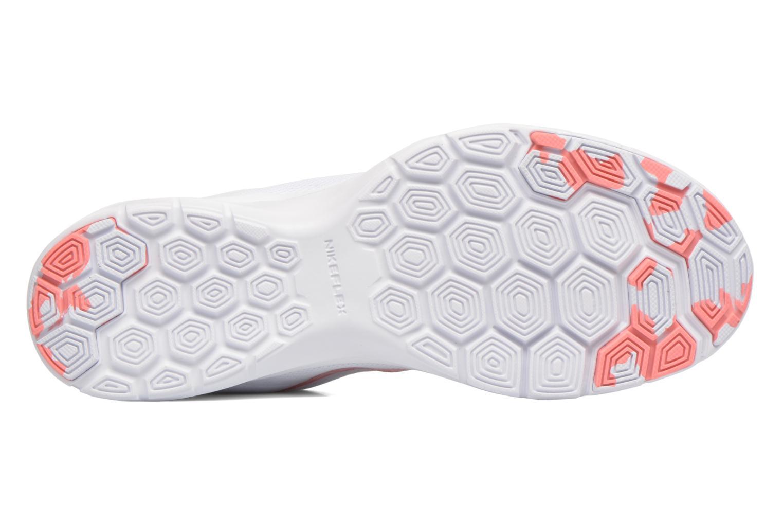 Chaussures de sport Nike Wmns Nike Flex Trainer 6 Prem Blanc vue haut