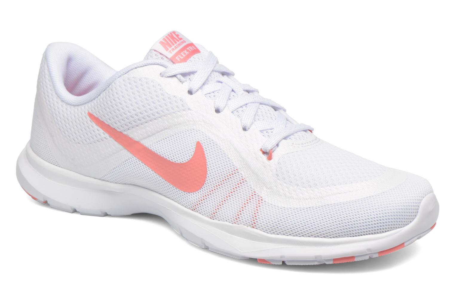 Wmns Nike Flex Trainer 6 Prem White/Bright Melon-Pure Platinum