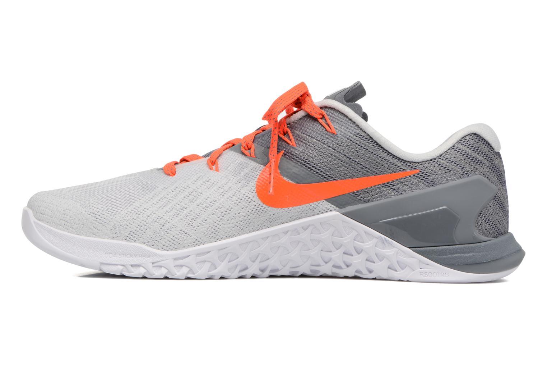 Chaussures de sport Nike Wmns Nike Metcon 3 Gris vue face