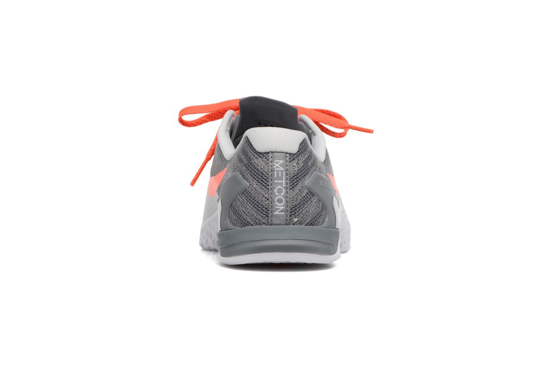 Chaussures de sport Nike Wmns Nike Metcon 3 Gris vue droite