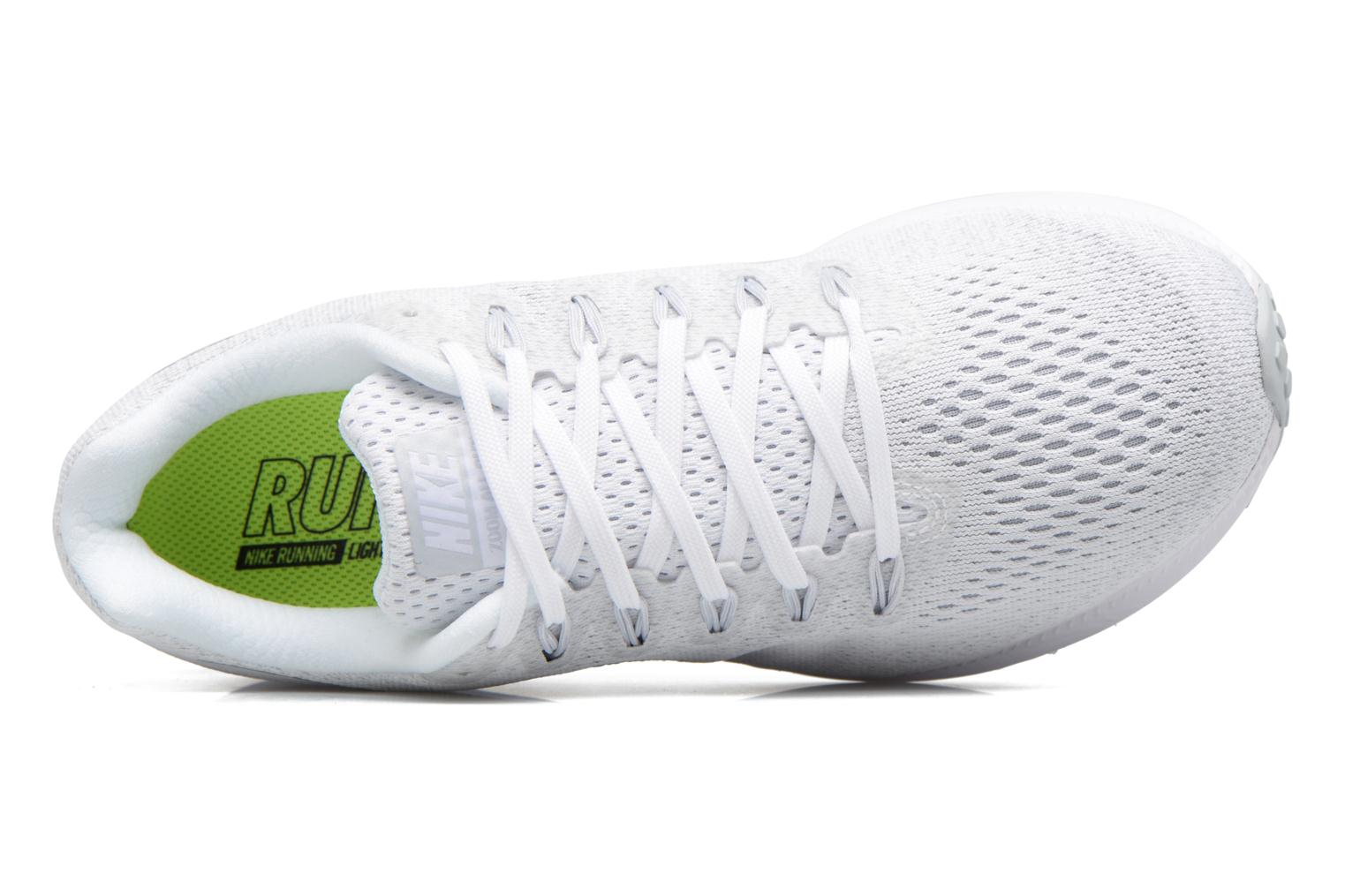 Chaussures de sport Nike Wmns Nike Zoom All Out Low Blanc vue gauche