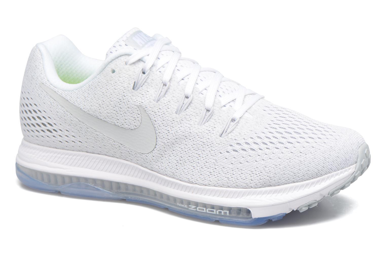 Sportssko Nike Wmns Nike Zoom All Out Low Hvid detaljeret billede af skoene