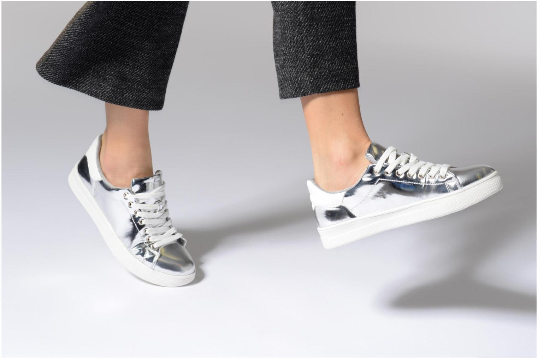 Sneaker I Love Shoes MC ETASSI gold/bronze ansicht von unten / tasche getragen