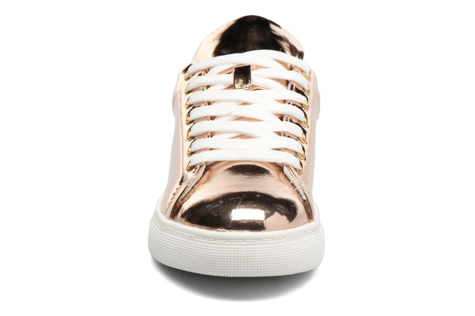 Trainers I Love Shoes MC ETASSI Bronze and Gold model view