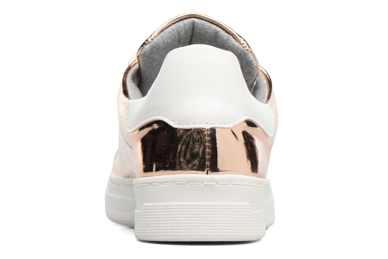 Deportivas I Love Shoes MC ETASSI Oro y bronce vista lateral derecha