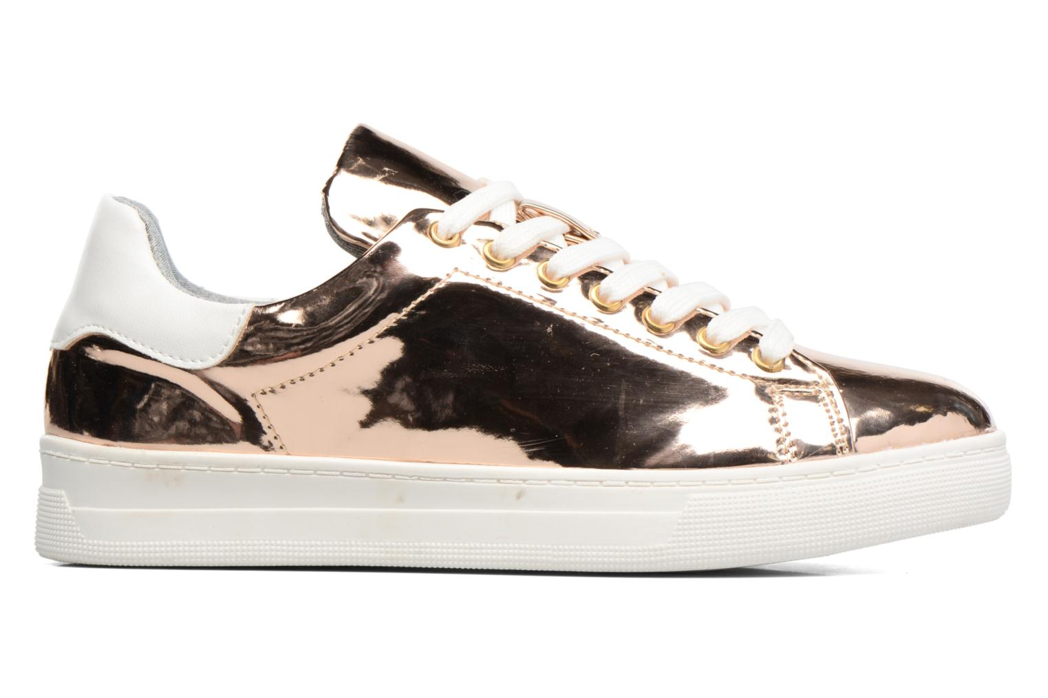 Trainers I Love Shoes MC ETASSI Bronze and Gold back view