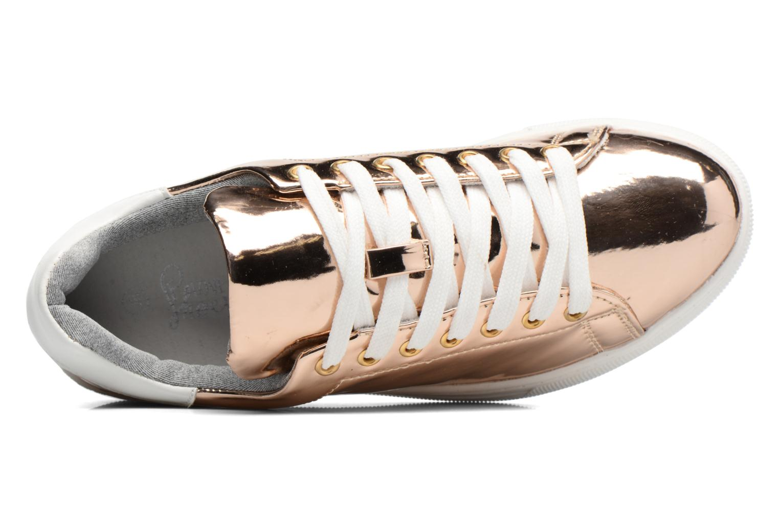 Sneaker I Love Shoes MC ETASSI gold/bronze ansicht von links