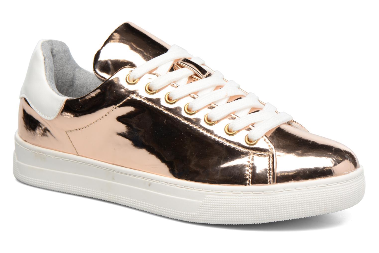 Deportivas I Love Shoes MC ETASSI Oro y bronce vista de detalle / par