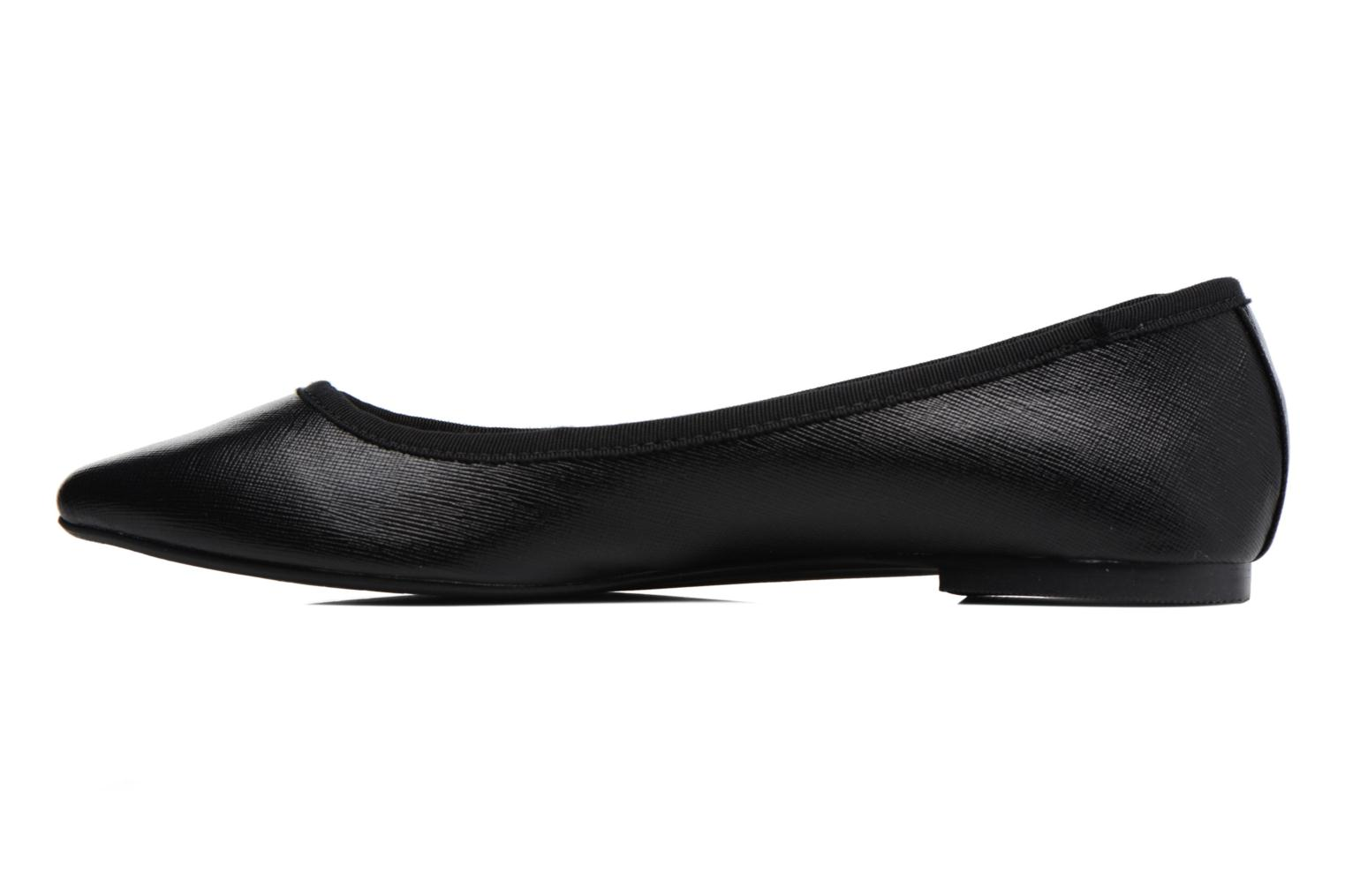 Ballet pumps I Love Shoes MC ANAS Black front view