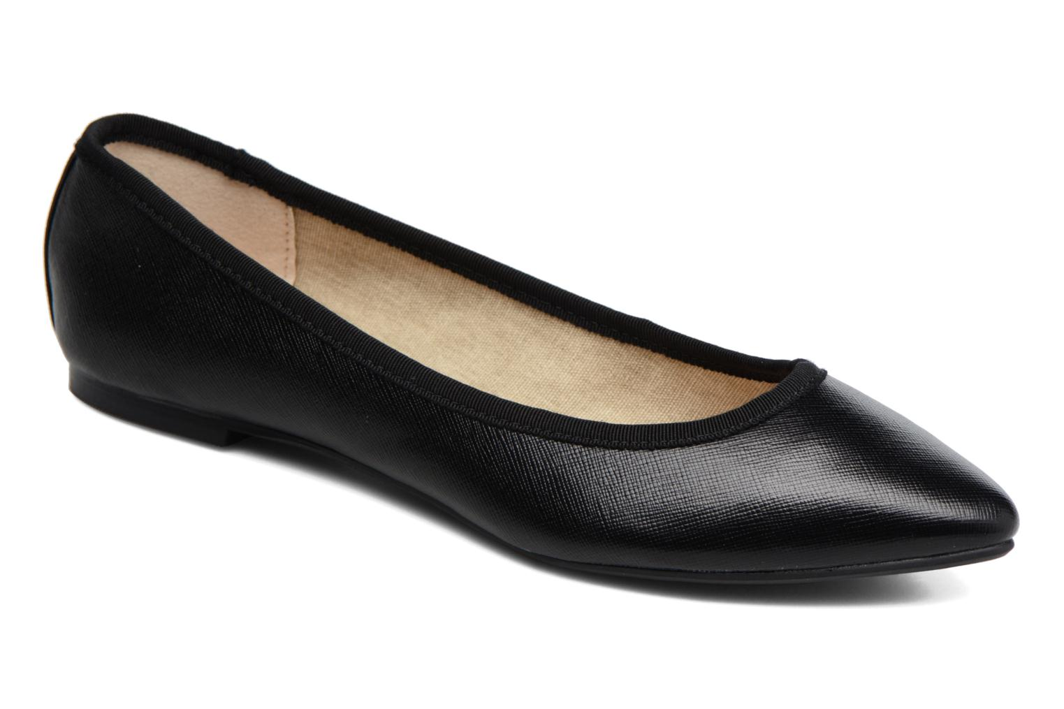 Ballet pumps I Love Shoes MC ANAS Black detailed view/ Pair view