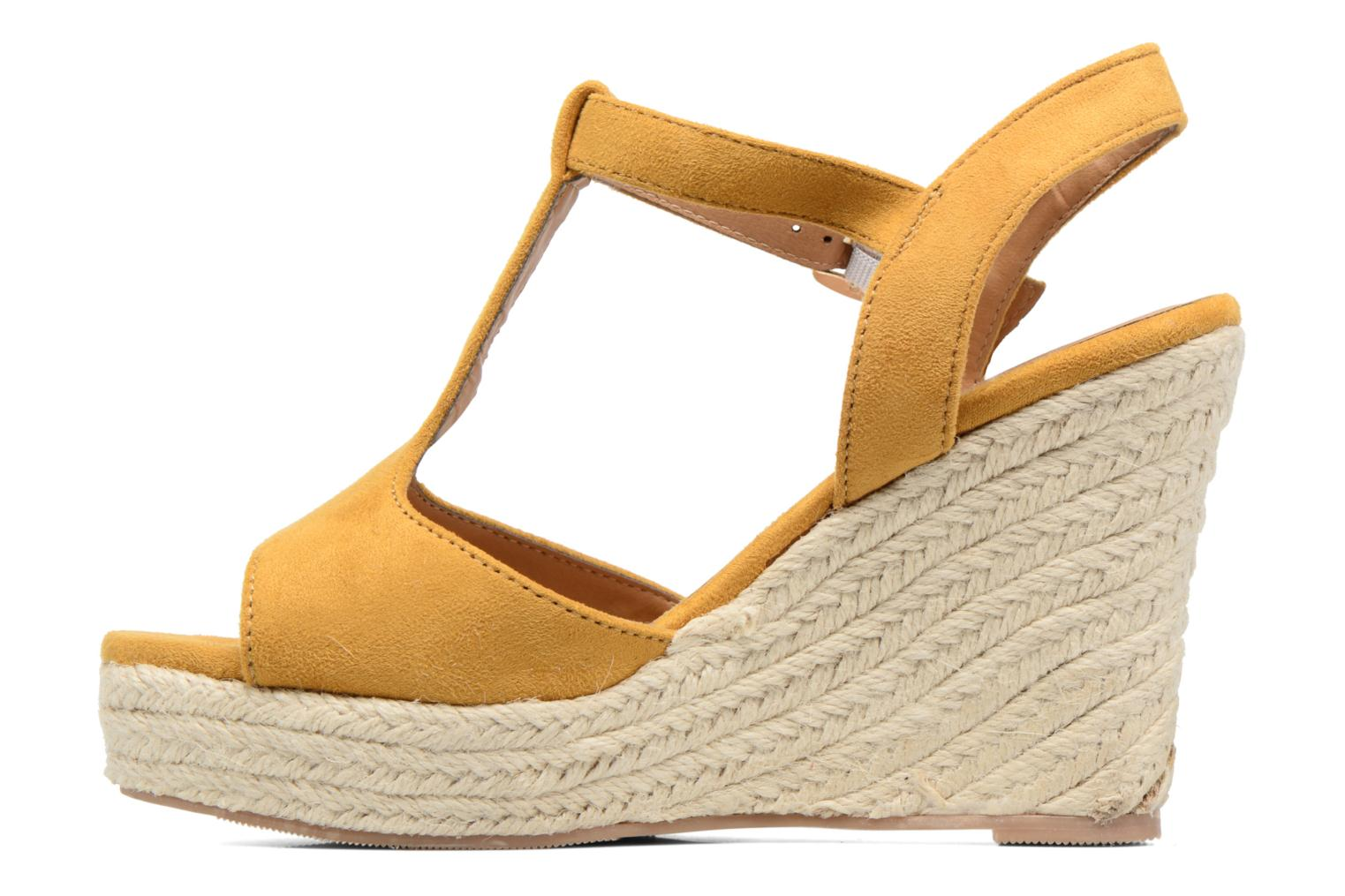 Espadrilles I Love Shoes MCADA Yellow front view