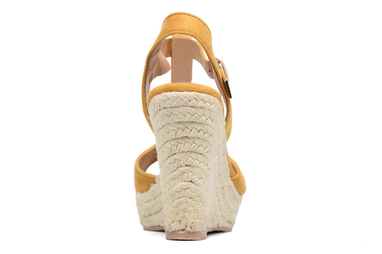 Espadriller I Love Shoes MCADA Gul Bild från höger sidan