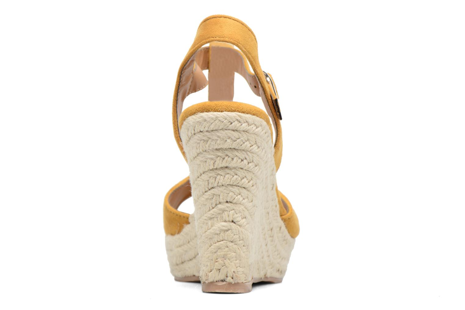 Espadrilles I Love Shoes MCADA Yellow view from the right