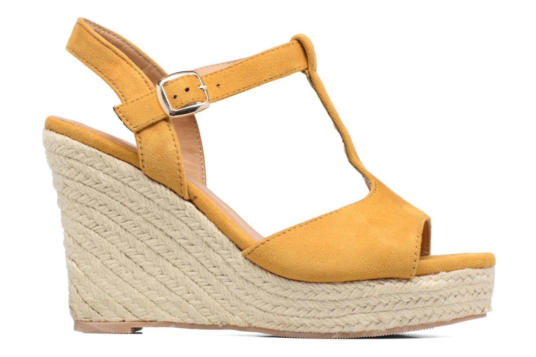 Espadrilles I Love Shoes MCADA Jaune vue derrière