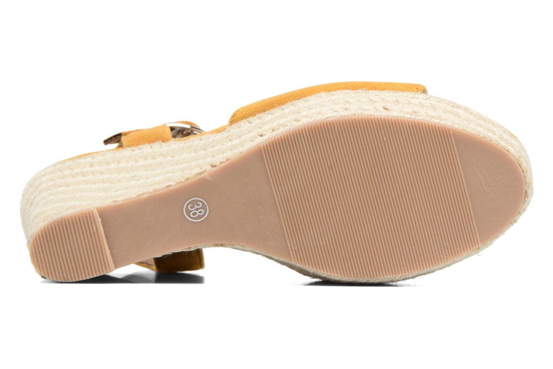 Espadrilles I Love Shoes MCADA Jaune vue haut