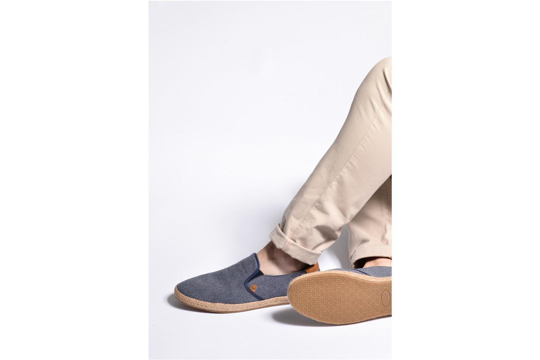 Espadrilles I Love Shoes KEDRILLE Gris vue bas / vue portée sac