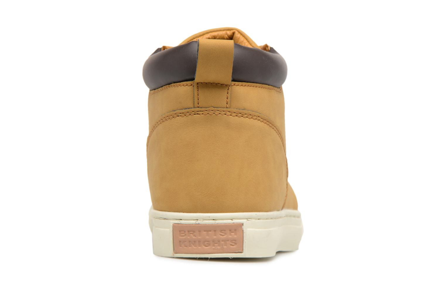 Trainers British Knights Wood M Brown view from the right