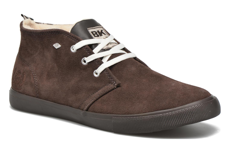 Sneakers British Knights Devon Mid Brun detaljeret billede af skoene