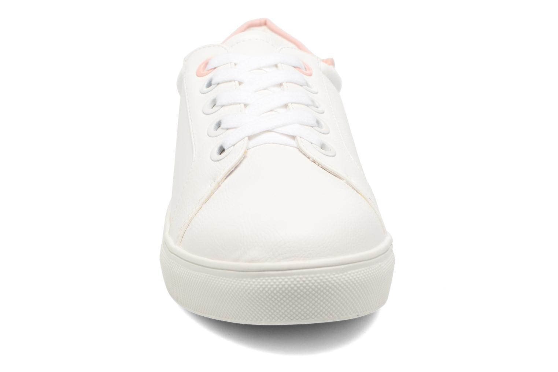 Baskets Dorothy Perkins Carlie Blanc vue portées chaussures