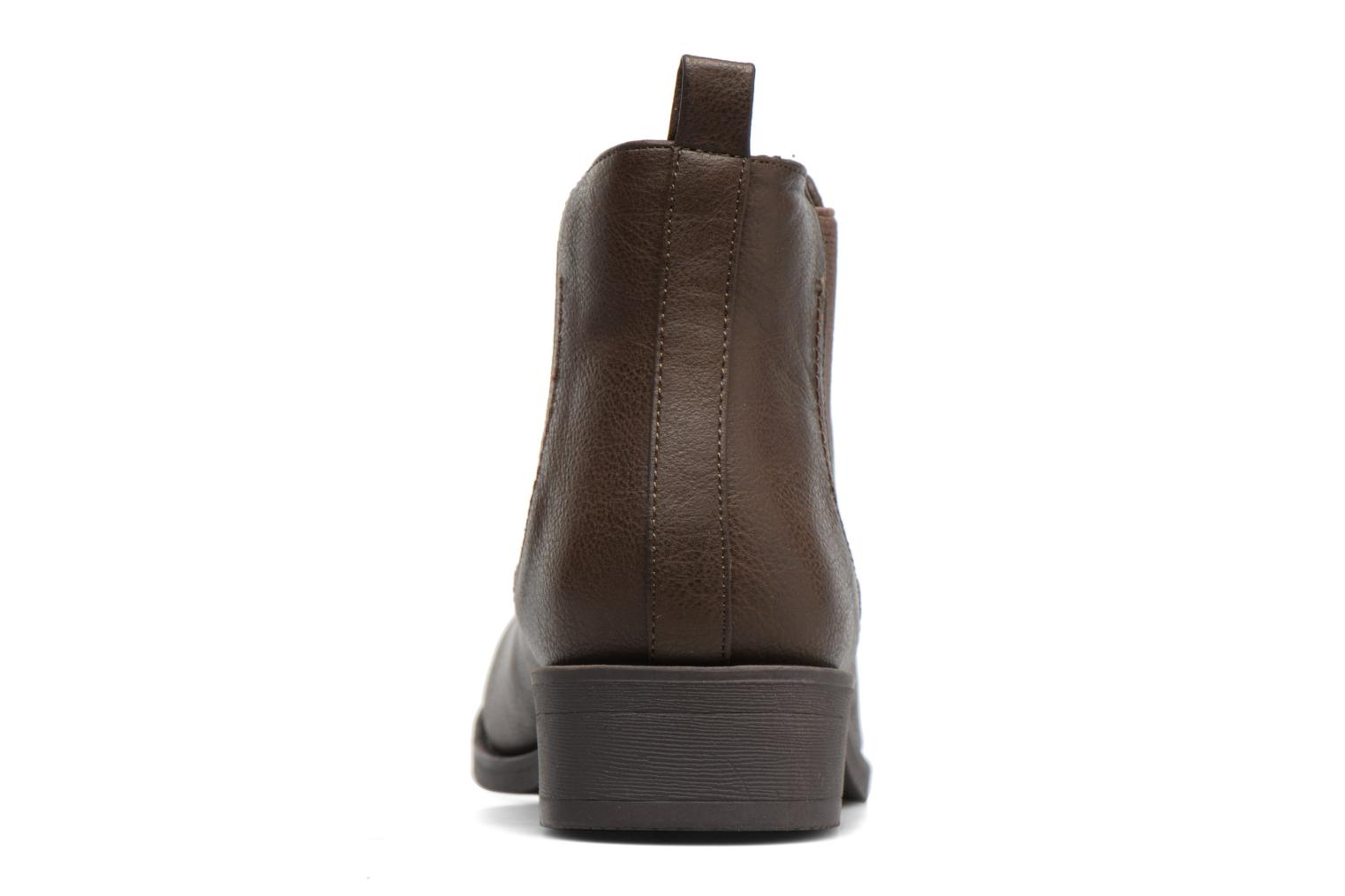 Bottines et boots Dorothy Perkins May Marron vue droite