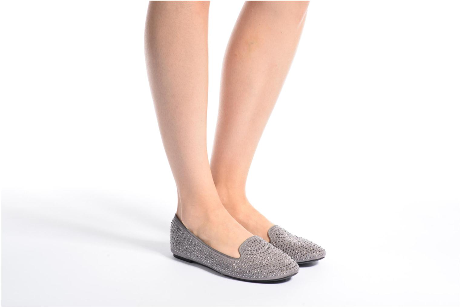 Loafers Dorothy Perkins Hannah Grey view from underneath / model view
