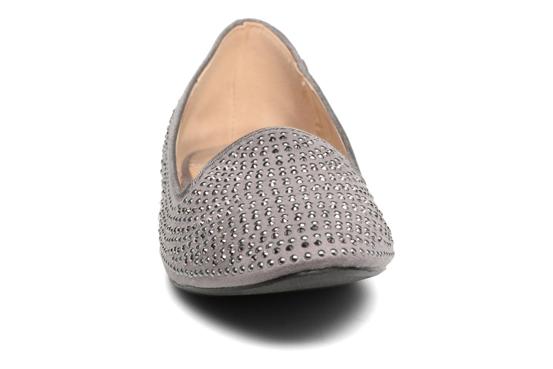 Mocassins Dorothy Perkins Hannah Gris vue portées chaussures