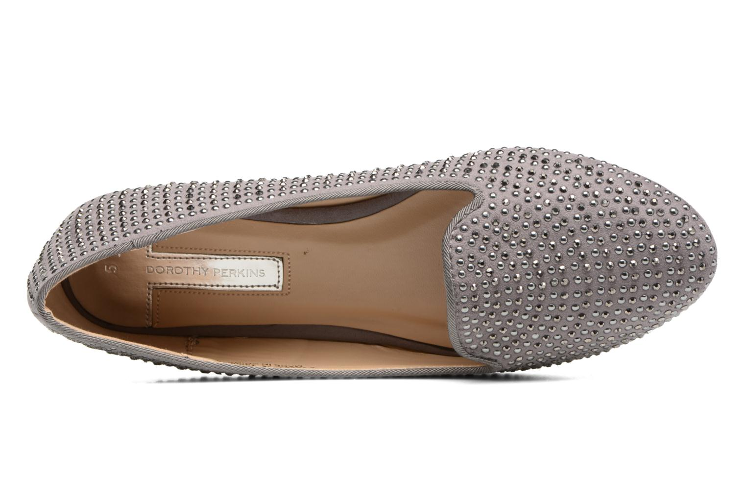 Loafers Dorothy Perkins Hannah Grey view from the left