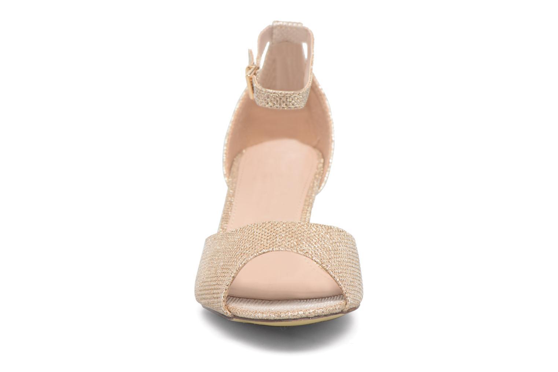 Sandales et nu-pieds Dorothy Perkins Richemond Or et bronze vue portées chaussures