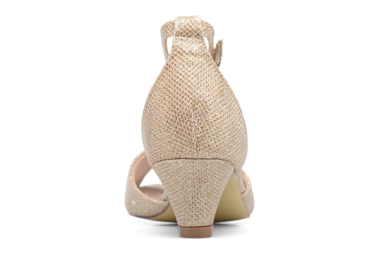 Sandales et nu-pieds Dorothy Perkins Richemond Or et bronze vue droite