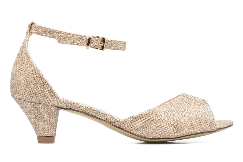 Sandales et nu-pieds Dorothy Perkins Richemond Or et bronze vue derrière