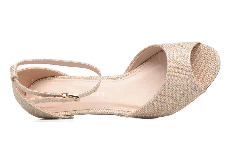 Sandales et nu-pieds Dorothy Perkins Richemond Or et bronze vue gauche
