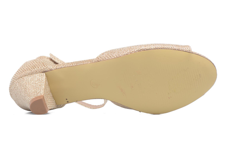 Sandales et nu-pieds Dorothy Perkins Richemond Or et bronze vue haut