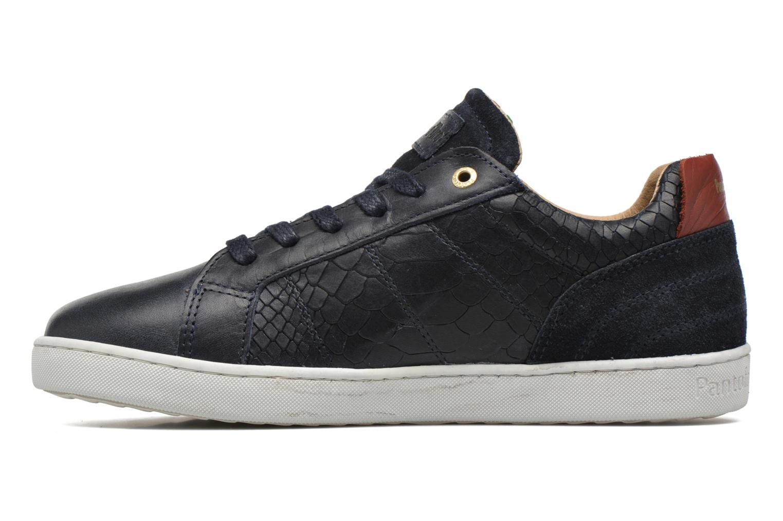 Baskets Pantofola d'Oro Montefino low JR Noir vue face