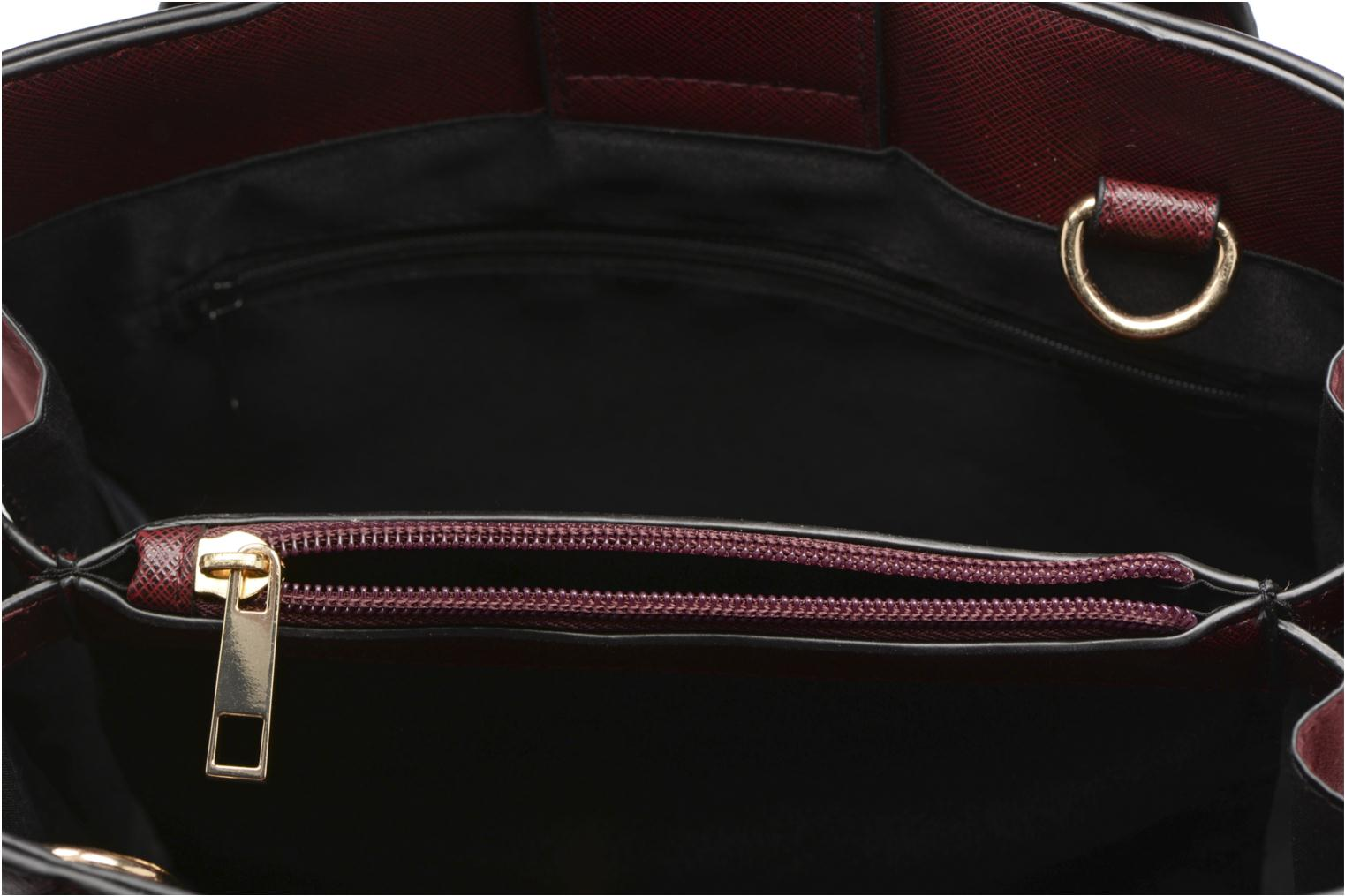 Mini Tab Tote Burgundy